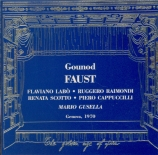 GOUNOD - Gusella - Faust (chanté en italien) chanté en italien