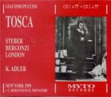 PUCCINI - Adler - Tosca (live MET 11 - 4 - 59) live MET 11 - 4 - 59