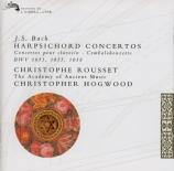 BACH - Hogwood - Concerto pour clavecin et cordes n°2 en mi majeur BWV.1