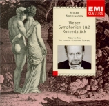 WEBER - Norrington - Symphonie n°1 en do majeur