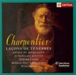 CHARPENTIER - Seminario Music - Leçons de Ténèbres du Jeudi Saint H.136