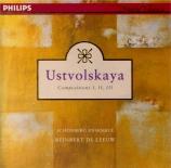 USTVOLSKAYA - De Leeuw - Composition I : Dona nobis pacem