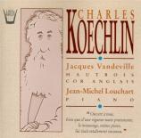 KOECHLIN - Vandeville - Quatorze pièces pour hautbois et piano op.179