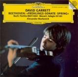 BEETHOVEN - Garrett - Sonate pour violon et piano n°5 op.24 'Le printemp