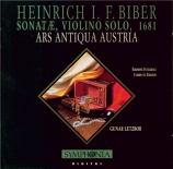 BIBER - Letzbor - Sonates