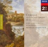 CORELLI - Marriner - Concerto grosso op.6 n°1