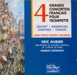 Quatre grands concertos français pour trompette