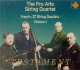 27 String Quartets Vol.1