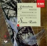 SCHOENBERG - Rattle - Symphonie de chambre n°1 op.9