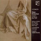 BACH - Herreweghe - Oratorio de pâques(Oster-Oratorium), pour solistes