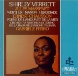 CHAUSSON - Verrett - Poème de l'amour et de la mer op.19