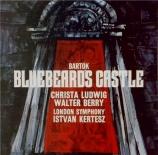 BARTOK - Kertesz - Le château de Barbe-Bleue, opéra op.11 Sz.48