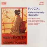 PUCCINI - Rahbari - Madame Butterfly : extraits