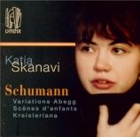 SCHUMANN - Skanavi - Variations sur le nom 'Abegg', pour piano en fa maj