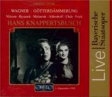 WAGNER - Knappertsbusch - Götterdämmerung (Le crépuscule des dieux) WWV