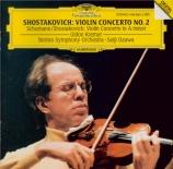 CHOSTAKOVITCH - Kremer - Concerto pour violon et orchestre n°2 en do diè