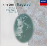 SIBELIUS - Flagstad - Mélodies