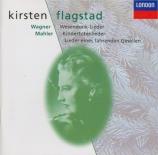 MAHLER - Flagstad - Kindertotenlieder (Chants pour des enfants morts), c