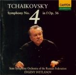 TCHAIKOVSKY - Svetlanov - Symphonie n°4 en fa mineur op.36