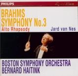 BRAHMS - Haitink - Symphonie n°3 pour orchestre en fa majeur op.90