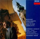 MOZART - Schiff - Concerto pour piano et orchestre n°26 en ré majeur K.5