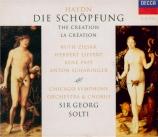 HAYDN - Solti - Die Schöpfung (La création), oratorio pour solistes, choe