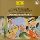 FRANCK - Bernstein - Symphonie pour orchestre enrémineur FWV.48