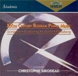 XXth Century Russian Piano Music