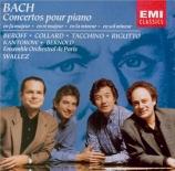 BACH - Wallez - Concerto pour clavecin et cordes n°3 en ré majeur BWV.10