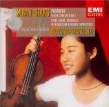 PAGANINI - Chang - Concerto pour violon n°1 en ré majeur op.6 M.S.21
