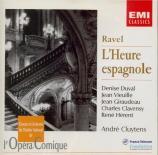 RAVEL - Cluytens - L'heure espagnole, opéra