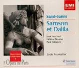 SAINT-SAËNS - Fourestier - Samson et Dalila