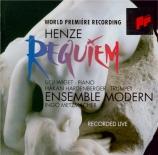 HENZE - Metzmacher - Requiem