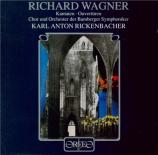 WAGNER - Rickenbacher - Faust-Ouvertüre, ouverture pour orchestre en ré