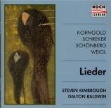 SCHOENBERG - Kimbrough - Lieder