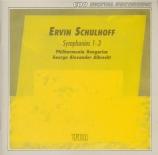 SCHULHOFF - Albrecht - Symphonie n°1