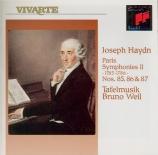 HAYDN - Weil - Symphonie n°85 en la majeur Hob.I:85 'La reine'