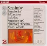 STRAVINSKY - Davis - Symphonie pour orchestre en do majeur