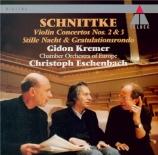 SCHNITTKE - Kremer - Concerto n°3 pour violon et orchestre