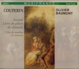 COUPERIN - Baumont - Second livre de pièces de clavecin