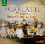 SCARLATTI - Queffélec - Sonate pour clavier en ré majeur K.96 L.465