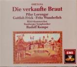 SMETANA - Kempe - Fiancée vendue (La) (chanté en allemand) chanté en allemand