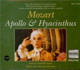 MOZART - Schmidt-Gaden - Apollo und Hyacinthus (Apollo et Hyacinthe), co