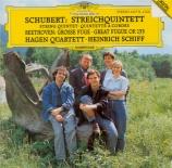 SCHUBERT - Hagen Quartett - Quintette à cordes à deux violoncelles en do