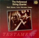 RAVEL - Hollywood Strin - Introduction et allegro, pour harpe, flûte, cl