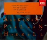 BRAHMS - Ashkenazy - Trio avec piano n°1 en si majeur op.8