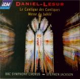 DANIEL-LESUR - Jackson - Le cantique des cantiques