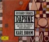 STRAUSS - Böhm - Daphné, opéra op.82