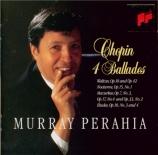 CHOPIN - Perahia - Grande valse brillante n°1 , pour pianoen mi bémol m