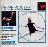 BARTOK - Boulez - Le prince de bois, ballet pour orchestre op.13 Sz.60